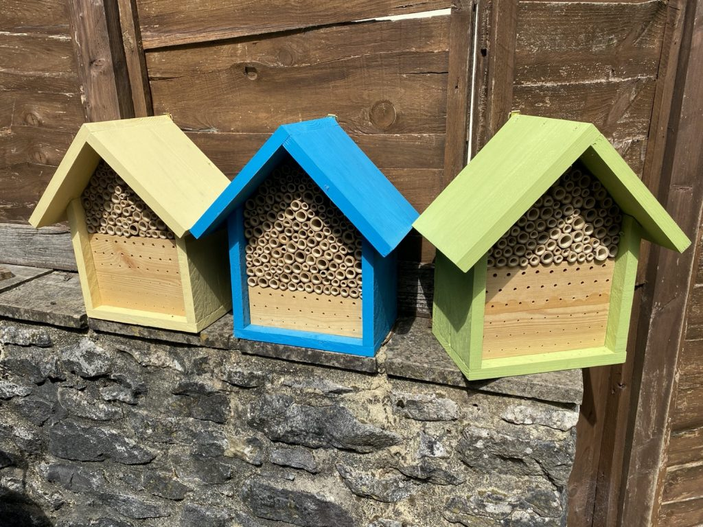 Make your own bee hotels