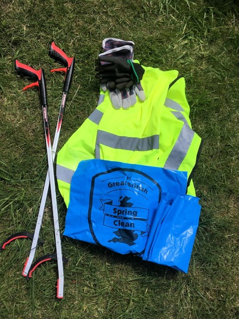 Litter picking equipment