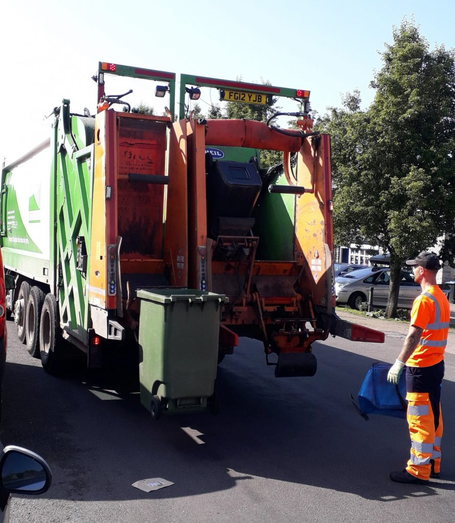 Our Council recycling team