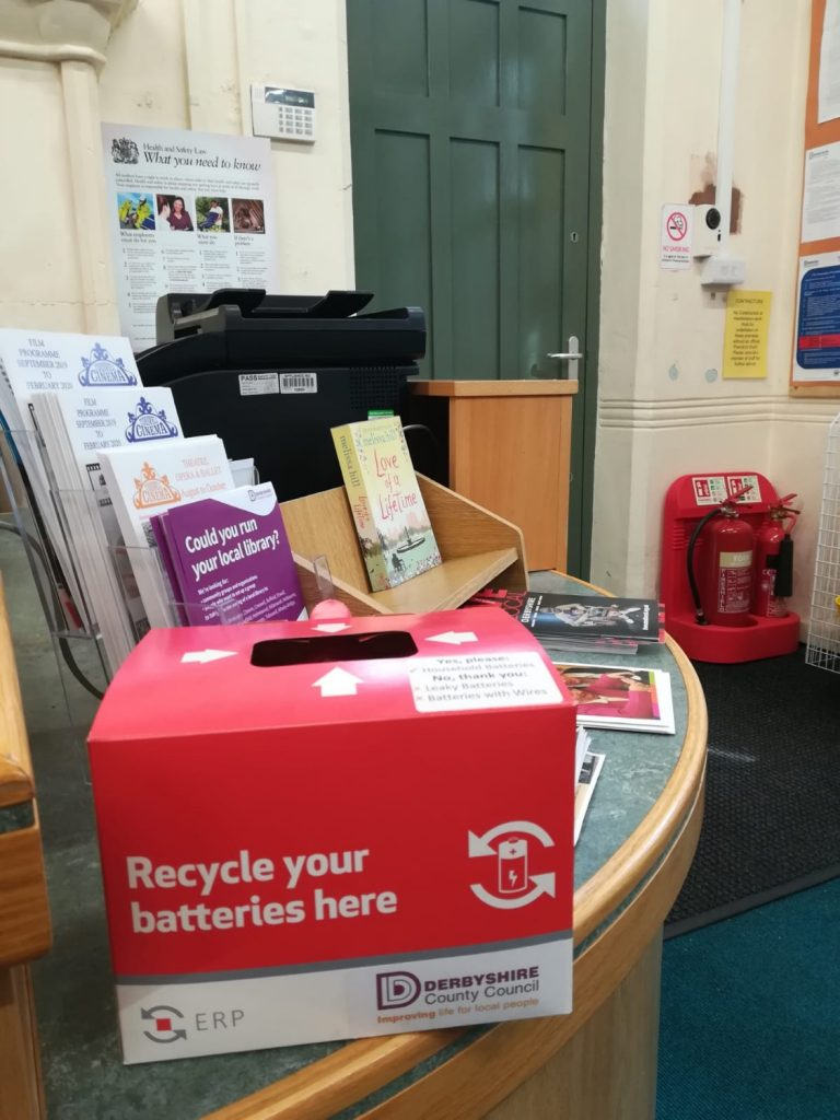 More recycling opportunities in the library