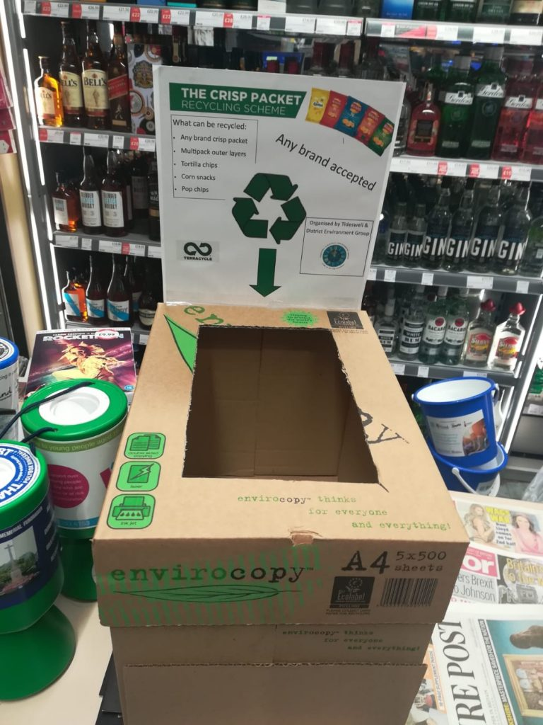 Look out for our extra recycling opportunities